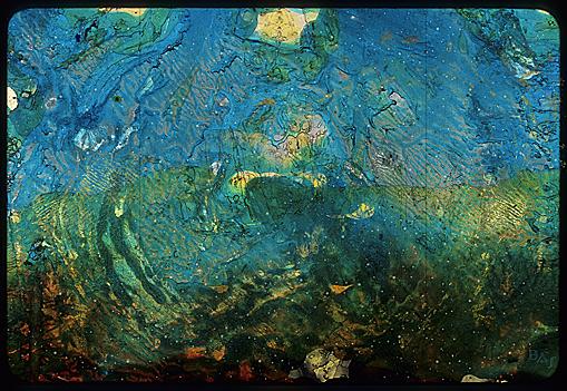 Cliché Verre No. 165: Beneath the Waves #5