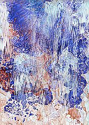Cliché Verre #245: Waterfall #3 — Spring Melt